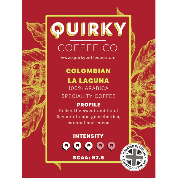 quirky coffee colombian speciality coffee